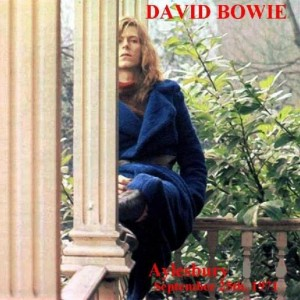 David Bowie 1971-09-25 Aylesbury ,Borough Assembly Rooms (Friars) (RAW master) - SQ 8+