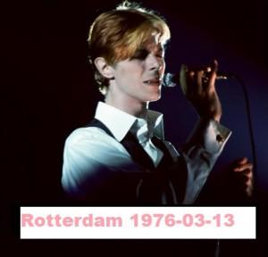 David Bowie 1976-05-13 Rotterdam ,Ahoy Sports Palais (Helden label) - SQ 7,5