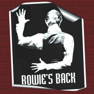 David Bowie 1976-05-07 London ,Wembley Empire Pool - Bowie's Back - SQ 7,5