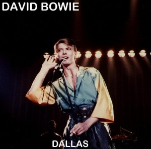 David Bowie 1978-04-10 Dallas ,Convention Center - SQ 8