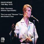 David Bowie 1978-05-19 Cologne, Kölner Sporthalle (DIEDRICH) - SQ 8+