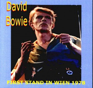 David Bowie 1978-05-22 Wien ,Stadthalle - First Stand in Wien - SQ 8