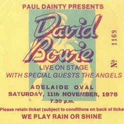 David Bowie 1978-11-11 Adelaide ,Oval Cricket Ground - Praying To The Light Machine - (TS master) - SQ 7,5