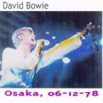 David Bowie 1978-12-06 Osaka ,Koseinenkin Kaikan Hall (Diedrich) - SQ -7