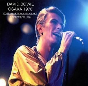David Bowie 1978-12-07 Osaka ,Koseinenkin Kaikan Hall (Halloween Jack) - SQ -8