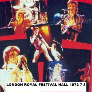 David Bowie 1972-07-08 London ,Royal Festival Hall (Friends of the earth save the Whale Benefit) - SQ 7+