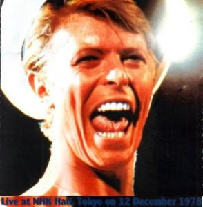 David Bowie 1978-12-12 Tokyo ,Nihon Budokan Hall (Diedrich) - SQ -8