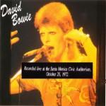 David Bowie 1972-10-20 Santa Monica ,Civic Auditorium (Cleveland WMMS broadcast ) - SQ 9,5