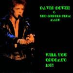 David Bowie 1973-01-06 Edinburgh ,Empire Theatre – Will You Educate With Me? – SQ  6