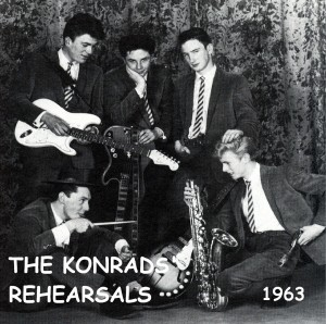 David Bowie The Konrads Rehearsels, 1963