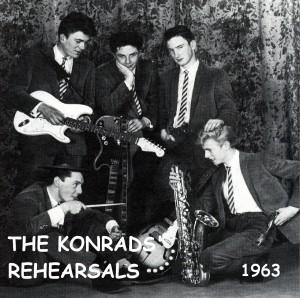 David Bowie The Konrads Rehearsels, 1963