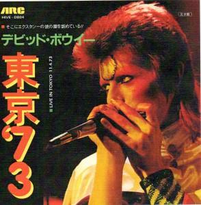David Bowie 1973-04-11 Tokyo , Japan , Shinjuku Koseinenkin