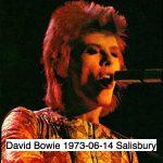 David Bowie 1973-06-14 Salisbury ,City Hall (45min - off master) - SQ -5