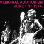 David Bowie 1974-06-17 Rochester ,War Memorial Auditorium (21 tracks) (Diedrich) – SQ 7+