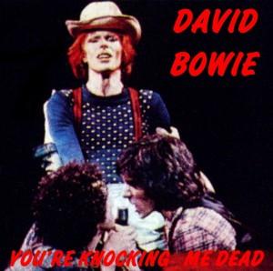 David Bowie 1974-06-22 Detroit ,Cobo Hall - you're Knocking me Dead - (Diedrich) - SQ-7