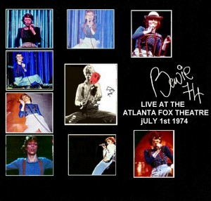 David Bowie 1974-07-01 Atlanta ,Fox Theater - SQ 6+