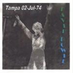 David Bowie 1974-07-02 Tampa ,Curtis Hixon Hall - (1974 rev - Kut Korners Production) - SQ 7,5