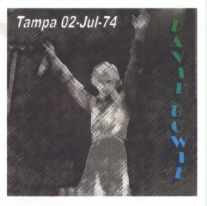 David Bowie 1974-07-02 Tampa ,Curtis Hixon Hall - (1974 rev - Kut Korners Production) - SQ 7,5