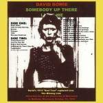 David Bowie 1974-10-10 Madison ,University of Wisconsin - Somebody Up There Likes Me - (Vinyl) - SQ 6,5