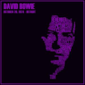 David Bowie 1974-10-20 Detroit ,Michigan Palace – Detroit 19 October 1974 – SQ 6,5
