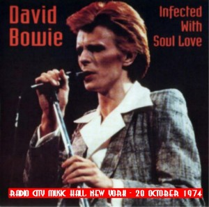 David Bowie 1974-10-30 New york ,Radio City Music Hall - Infected With Soul love - SQ 7,5