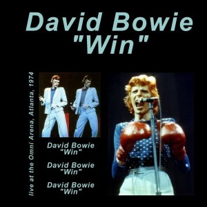 David Bowie 1974-12-01 Atlanta ,Omni Arena - Win - SQ 6+