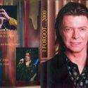 David Bowie I For Got …2000 – TV compilation