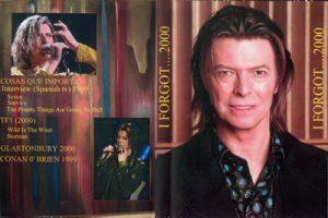 David Bowie I For Got ...2000 - TV compilation