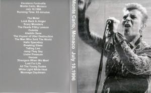 David Bowie 1996-07-10 Monaco '96-Live at the Espace Fontveile ,Monte