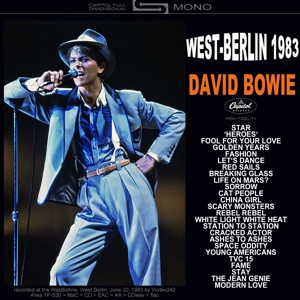 David Bowie 1983-06-20 Berlin ,Waldbühne - West-Berlin 1983 - (Vortex242 master) - SQ -8