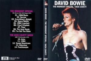David Bowie 1973-08-18/20 London ,Marquee Club - The Midnight Special / Dick Cavet - (1980 Floor Show)