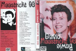 David Bowie 1990-08-19 Maastricht ,Exhibition & Congress Centre – Maastricht 1990 - (audience recording)