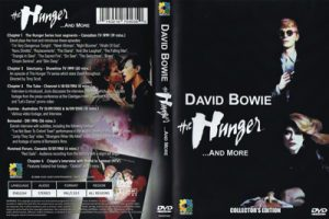 David Bowie The Hunger And More (100 minutes TV compilations) footage includes: