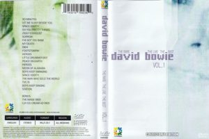 David Bowie The Rare,The Live,The Best Volume 1