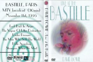 David Bowie 1995-11-11 Paris ,The Bastille - Live at The Bastille (29 minutes) MTV broadcast