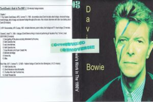 David Bowie David Bowie's Work In The 1990's (120 min) footage includes: