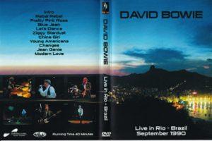 David Bowie 1990-09-22 Rio De Janciro ,Sambodrome Del Rio - Live in Rio-Brazil - 1990 T.V.broadcast (40 minutes)