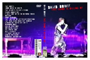 David Bowie 1996-02-16 Amneville ,Le Galaxie - This Chaos Is Killing Me -