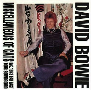 David Bowie 1973-04-08 Tokyo ,Shinjuku Koseinenkin Kaikan - Miscellaneous Of Cats - SQ -6-9