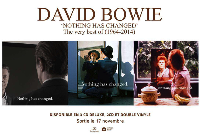 David Bowie Nothing Has Changed -Triple CD set