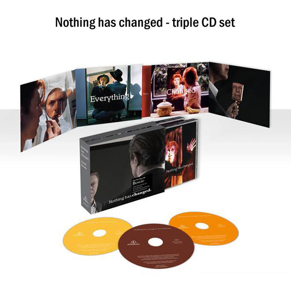 David Bowie Nothing has Changed - triple CD set