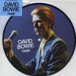 "David Bowie Fame Limted Edition 40th Anniversary 7"" Picture Disc."