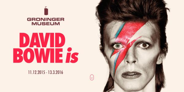 EXHIBITION December 2015: David Bowie is