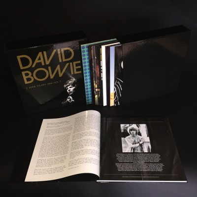 David Bowie Five Years 1969 – 1973 Box set