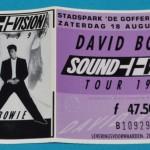 David Bowie 1990-08-18 Nijmegen ,de Goffert Stadspark - Flashing No Colour - SQ -8