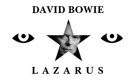 David Bowie's – Lazarus Lyric music video