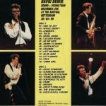 David Bowie 1990-03-30 Rotterdam ,Sport Paleis Ahoy - Sound & Vision - SQ 8
