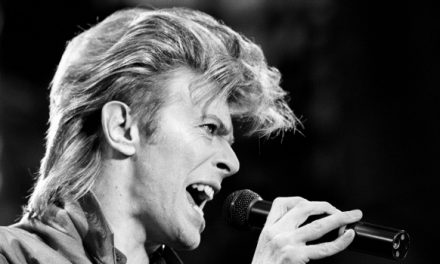 Listen to David Bowie imitate .