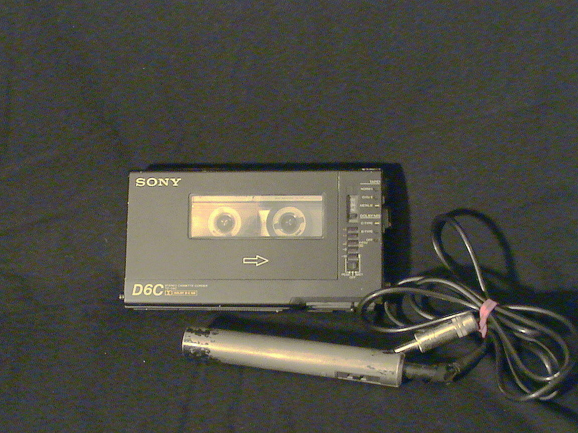 sony d6 teac mic