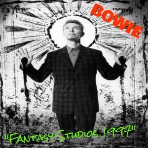 David Bowie - Fantasy Studios 1997 - Front Cover